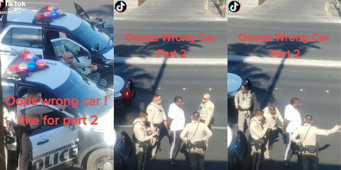 las-vegas-police-pulling-over-wrong-car