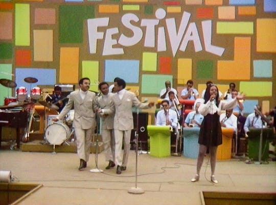 gladys knight pips at the harlem culture festival