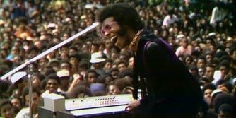 sly stone at harlem culture festival
