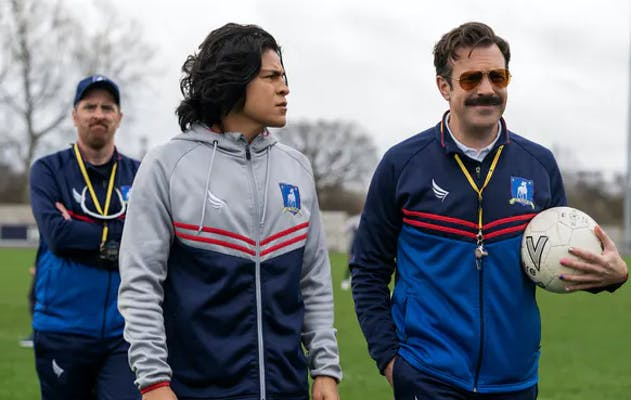a scene from ted lasso season 2