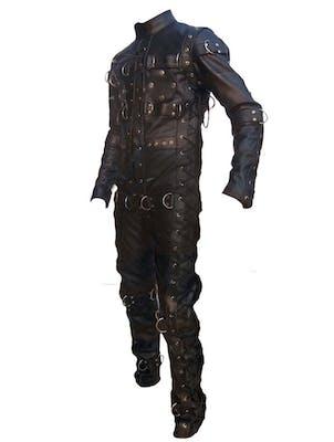Custom Leather Bondage Suit