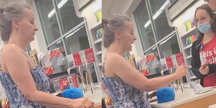 Video shows customer yelling at Walgreens manager