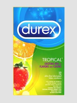 Durex Tropical Mixed Flavored Condom