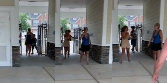 Community pool Karen