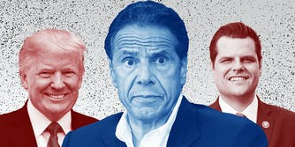 (From Left) Donald Trump, Andrew Cuomo, and Matt Gaetz.