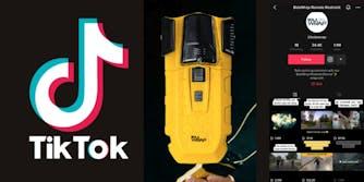 A Bola Wrap device and a TikTok page