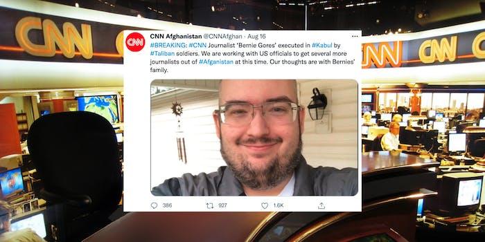 A fake CNN tweet