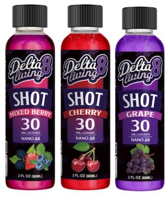 delta-8 living shots