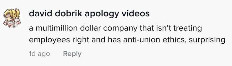 A multimillion dollar company that isn't treating it's employees right and has anti-union ethics, surprising