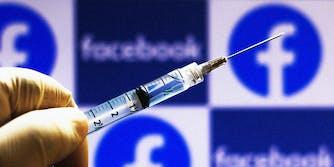 A syringe.