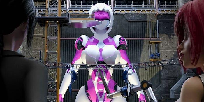 f.u.t.a sentai - featured image a big sexy robot