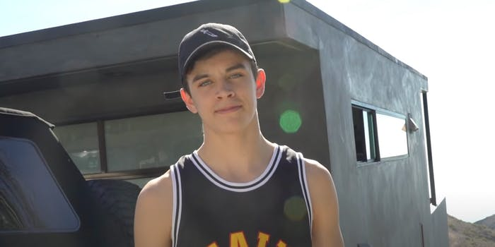 hayes grier in 2016