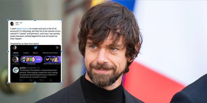 twitter ceo jack dorsey smiling