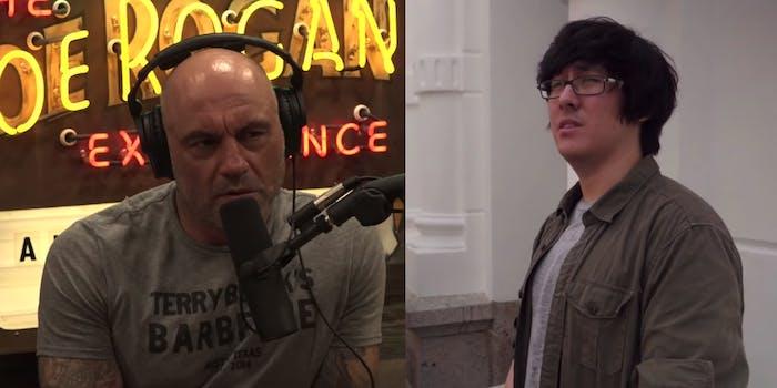 Joe Rogan and Ron Watkins