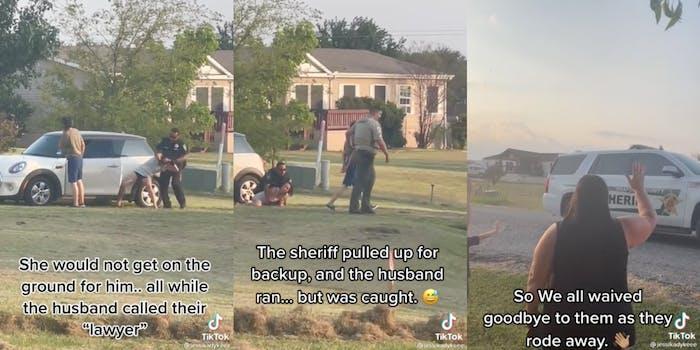 karen-couple-harassed-neighborhood-arrested-tiktok