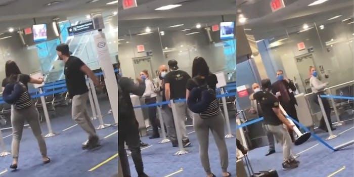 male-karen-miami-international-airport