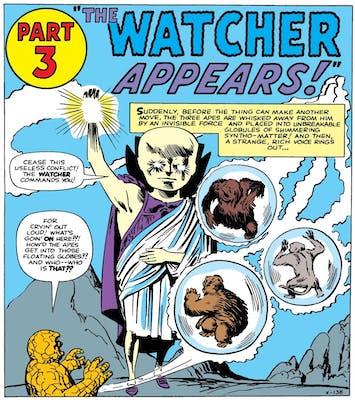 marvel comics watcher
