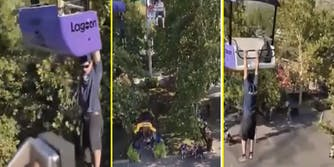 utah amusement park video man falls to death