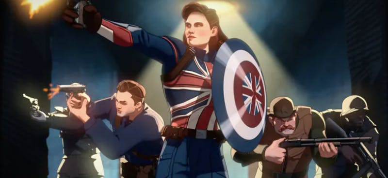 peggy carter in what if...?