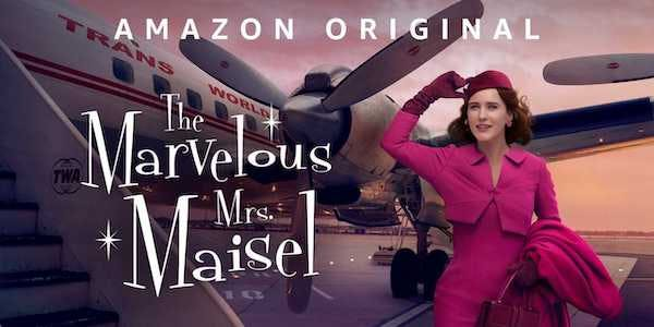 The Marvelous Mrs. Maisel is on of the best amazon prime video original shows