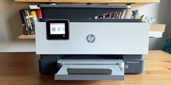 hp officejet pro 9015 in a home office