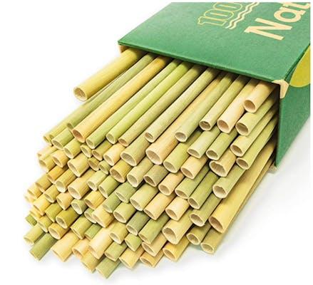 100% Organic Grass Straws