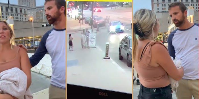 Couple arguing after running over TikToker's dog