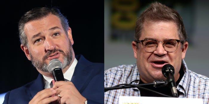 Sen. Ted Cruz and Patton Oswalt