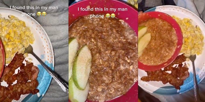 TikTok boyfriend cooking