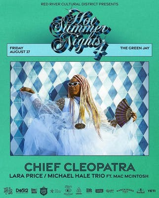 Chief Cleopatra show poster