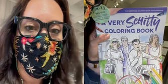 Christina Haberkern shared a video with her book from a Paper Source store