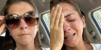 Deaf person crying after dunkin' donuts discrimination