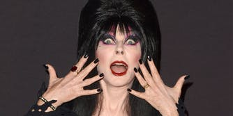 Elvira, aka Cassandra Peterson