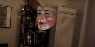 a floating face filter from Host