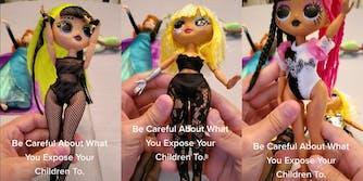 TikToker shows LOL Surprise dolls outfits