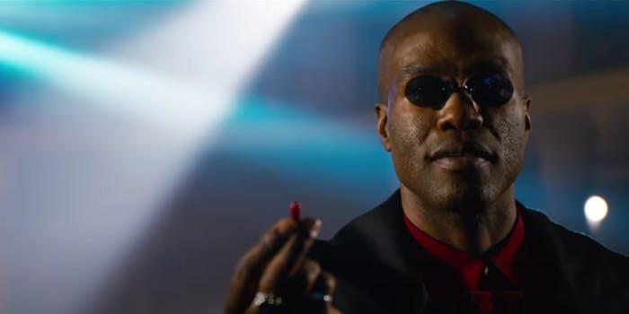 matrix resurrections morpheus