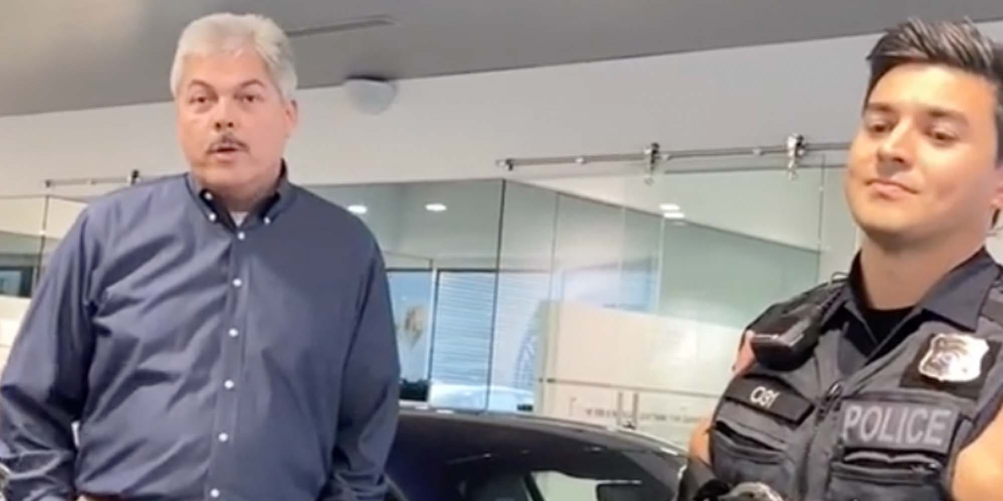 'Trying to buy a Porsche while Black': TikToker says dealership workers discriminated against him