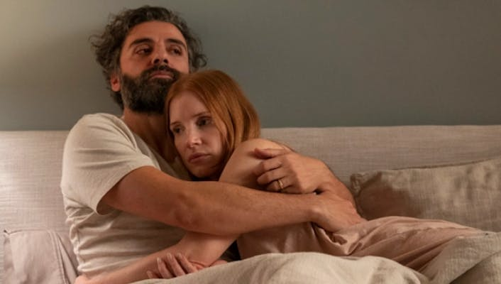 jessica chastain and oscar issac