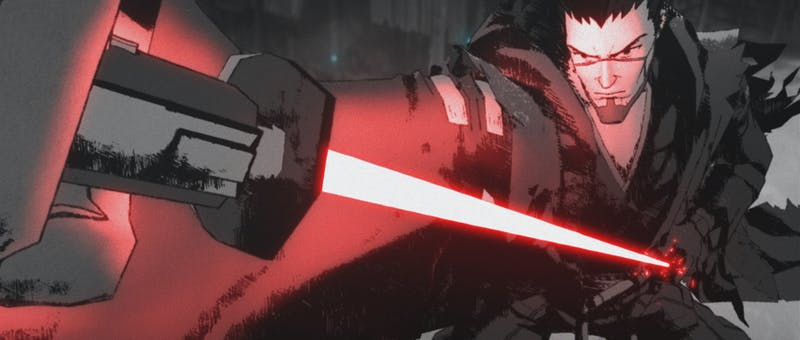 ronin in star wars: visions the duel