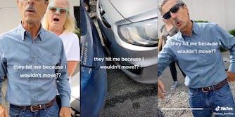 TikTok Man Hits Car