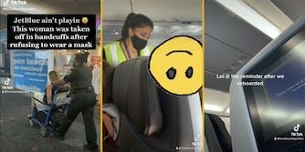 tiktok viral video anti-masker jetblue