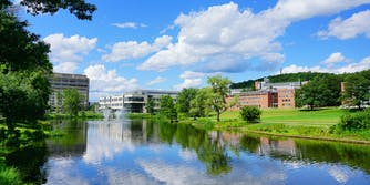 UMASS college campus.