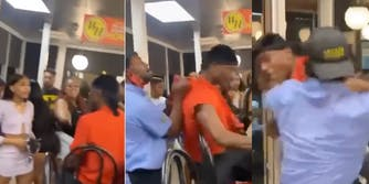 waffle house fight in atlanta