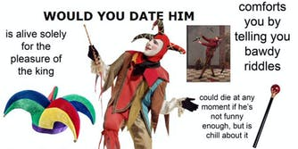 would you date him