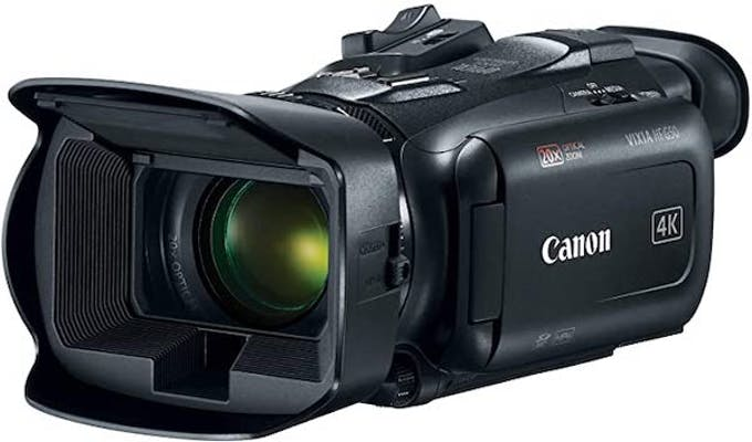Black camcorder from canon