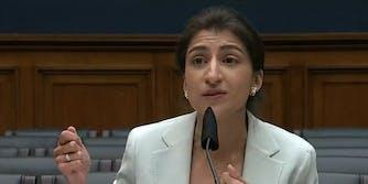 FTC Chairwoman Lina Khan.