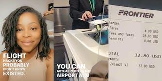 TikToker's flight hack