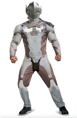 Genji from overwatch full costume for best couples Halloween costume