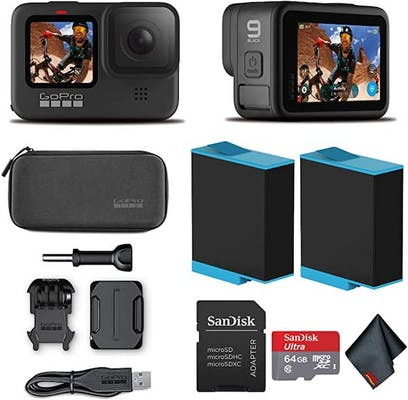 Best HD cams for live streaming Go Pro hero9 with accesories