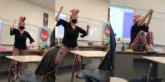 Teacher mocks Native Americans in lesson
